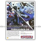 PUB SUZUKI GS 1000 GS1000 & le BOL D'OR - Original Advert Publicité Moto de 1980