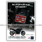 PUB SUZUKI GSF BANDIT 1250 - Ad / Publicité Moto de 2010