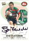 2004 SELECT NRL CAPTAIN SIGNATURE: BRYAN FLETCHER #29/40 REDEMPTION RABBITOHS