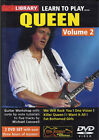 LEARN TO PLAY QUEEN GUITAR LICK LIBRARY DVD VOLUME 2 TUITIONAL TUTORIAL