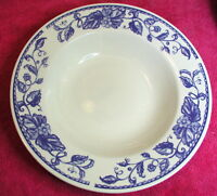 "American Atelier (Blue Fruit) 9"" SOUP / CEREAL BOWL(s)  Exc (8 avail)"