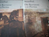 Stendhal  Die Kartause von Parma  Band 1 und 2