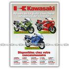 PUB KAWASAKI ZX-6R ZX-7R ZX-9R NINJA ZX6R ZX7R ZX9R Ad / Publicité Moto de 1998