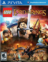 PLAYSTATION VITA LEGO LORD OF THE RINGS BRAND NEW VIDEO GAME