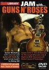 JAM WITH GUNS N ROSES LICK LIBRARY PLAY ALONG GUITAR 2 DVD's & CD