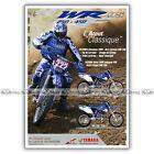 PUB YAMAHA WRF 250 & 450 WR-F - Ad Publicité Moto de 2005