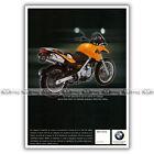 PUB BMW F 650 GS F650 F650GS - Ad / Publicité Moto de 2001