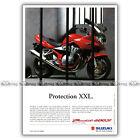 PUB SUZUKI GSF 600 BANDIT S GSF600 - Ad / Publicité Moto de 2000