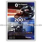 PUB TRIUMPH 1050 SPEED TRIPLE & TIGER 800 Original Advert Publicité Moto de 2011