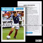 MILOSEVIC SAVO (PARMA FC) - Fiche Football / Calcio 2000