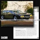 #CVP.110 LAMBORGHINI ESPADA 1968 Fiche Auto