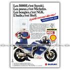 PUB SUZUKI GSXR 1100 GSX-R (GSXR1100) - Original Advert / Publicité Moto de 1987