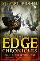 The Edge Chronicles 3: The Clash of the Sky Galleons: Quint Saga Book-ExLibrary