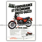 PUB GUZZI V 50 III V50 500 - Original Advert / Publicité Moto de 1981