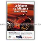 PUB KAWASAKI ZZR 1100 ZZR1100 1100ZZR - Original Advert / Publicité Moto de 1994