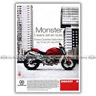 PUB DUCATI 696 MONSTER - Original Advert / Publicité Moto de 2008 #1
