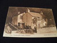 Cumberland Postcard Dove Cottage Wordsworths Home Grassmere