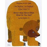 Brown Bear, Brown Bear, What Do You See? In Albanian and English by Bill...