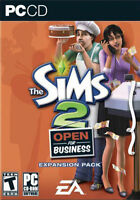 The Sims 2: Open for Business Expansion Pack (PC CD), Very Good PC, Windows XP V