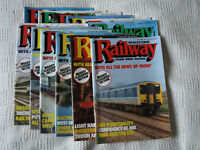 The Railway Magazine 1987 Complete Set 12 Issues Volume 133 No 1029 - 1040