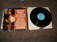 VARIOUS ARTISTS  COUNTRY GIANTS  VOL2  LP RECORD  VINYL