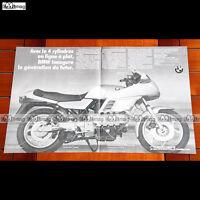 PUB BMW K 100 K100 1000  - Publicité Moto de 1983