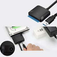"""SATA to USB 3.0 2.5""""/3.5"""" HDD SSD Hard Drive Disk Converter Cable Adapter Envy"""