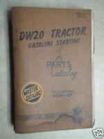 Caterpillar CAT DW20 Tractor Parts Manual