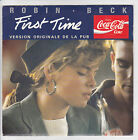 COCA COLA Film Origine Pub 45T The FIRST TIME - ROBIN BECK Gavin SPENCER MERCURY