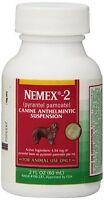 Nemex-2 (pyrantel pamoate) Liquid Dog Wormer 2 oz