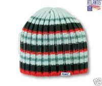 ATLANTIS ribbed KNITTED BEANIE wooly HAT CAP