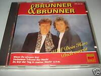 BRUNNER & BRUNNER WEIL DEIN HERZ DICH VERRÄT    CD 1994