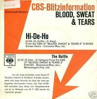 "BLOOD, SWEAT & TEARS - HI-DE-HO 7"" BLITZ PROMO (S2372)"