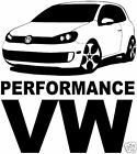 VW Performance Golf Gti,V Dub Car Sticker Decal Graphic