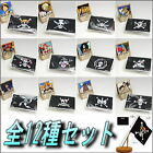 Plex One Piece Pirate Flag Figure Figurine Set x 12