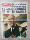 FRANCE DIMANCHE 17/11/1970 - Mort de De Gaulle N° 1263
