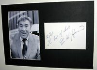 AUTOGRAPH Frankie Howerd ACTOR COMEDIAN CARRY ON - UP POMPEII - FILM & TV STAR