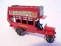 Matchbox B Type Bus Dewar's 1912-1920  Lesney No 2  MOY Models of Yesteryear