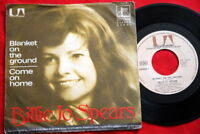 """BILLIE JO SPEARS BLANKET ON THE GROUND 1975 EXYU 7"""" PS"""