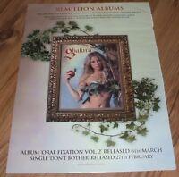Shakira-2005 magazine advert