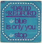 """REDFORD David Vinyle 45 tours 7"""" SP BLUE IS ONLY YOU"""