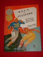 1955 UCLA Trojans vs Stanford NCAA College Football Program At Stanford