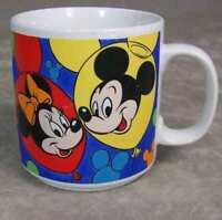 Disney Mickey Minnie Donald Pluto Goofy Coffee Mug