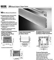 GRASS #6036/V3-510mm-ALMOND INTEGRATED DRAWER SLIDES AND DRAWER SIDES