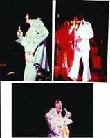 "1970S RARE ELVIS PRESLEY 4X6"" CONCERT PHOTO LOT 3 4/36"