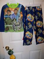 Clone Star Wars Flame Resistant BG Pajama PJ Boys 2 Piece Set Size 4 NWT #30