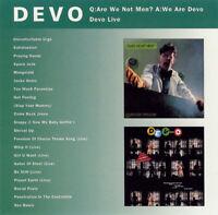 DEVO Q: Are We Not Men?/Devo Live/Bonus Tracks CD NEW