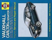 Haynes Manual for Vauxhall Carlton & Senator Petrol