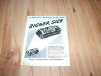 Mars bar-1950 magazine advert