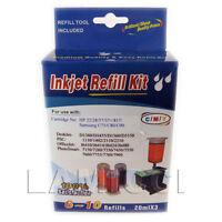 3 Colors Bulk Ink Refill Kit for HP 22 28 57 57+ 817 **